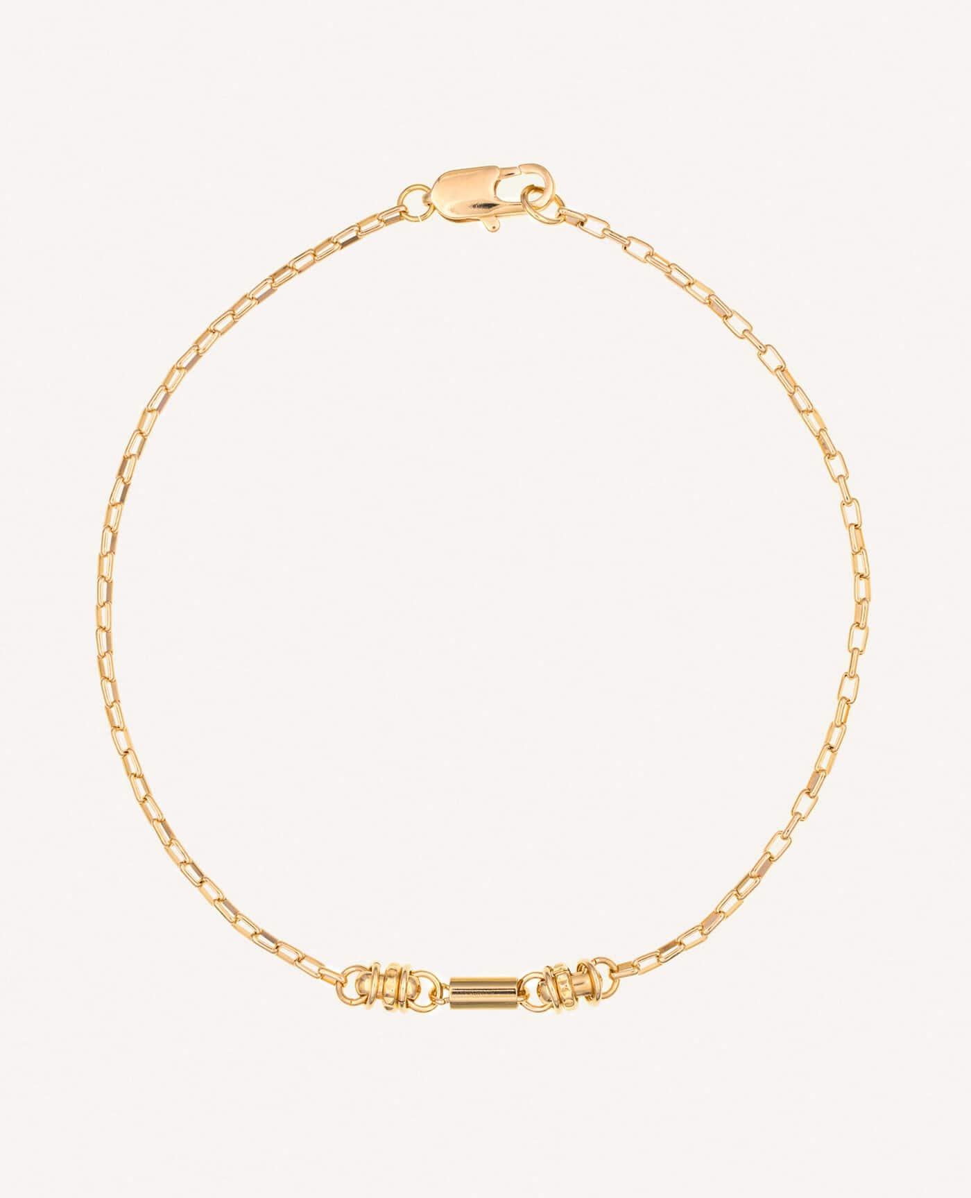Collier Lilli ras de cou en or de la marque Luj Paris