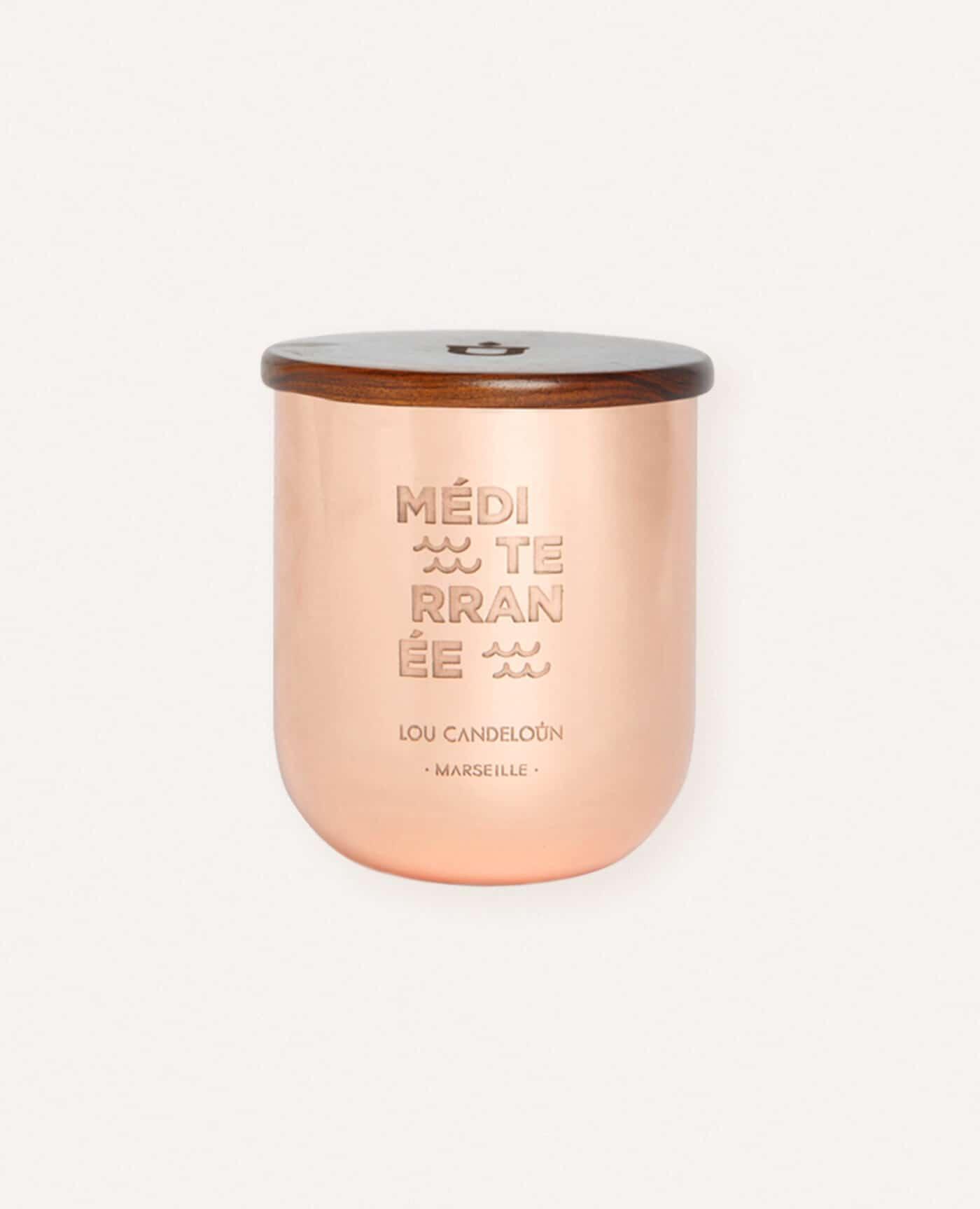 Lilygardencandles Bougie parfum/ée Melon Limoncello dans Le stoppeur Jar Bougie de Cire de soja avec Un Temps de Combustion sup/érieur /à 37 Heures