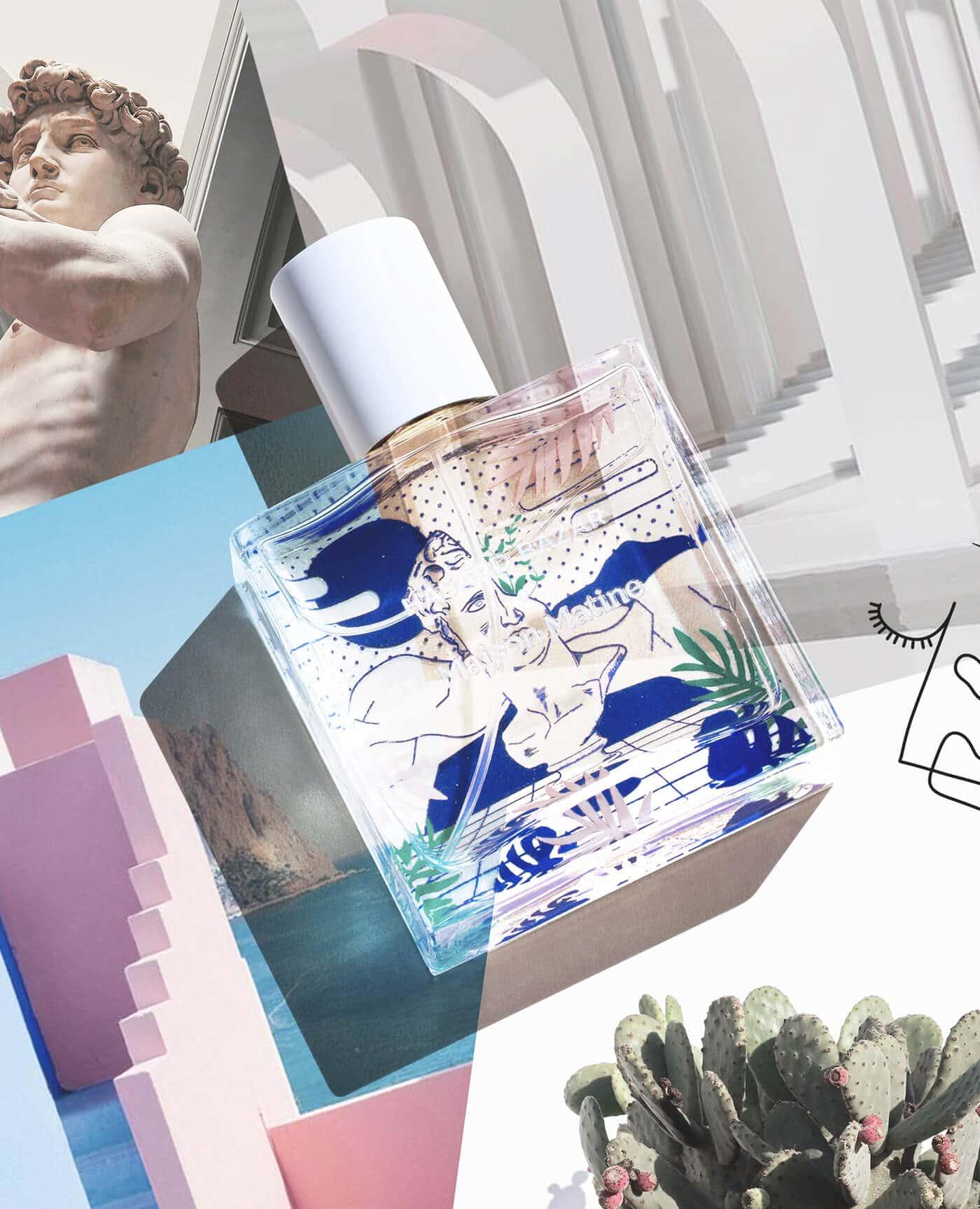 Parfum naturel Hasard bazar, Oriental Vanillé, vegan à l'alcool bio de la marque Maison Matine Made in France