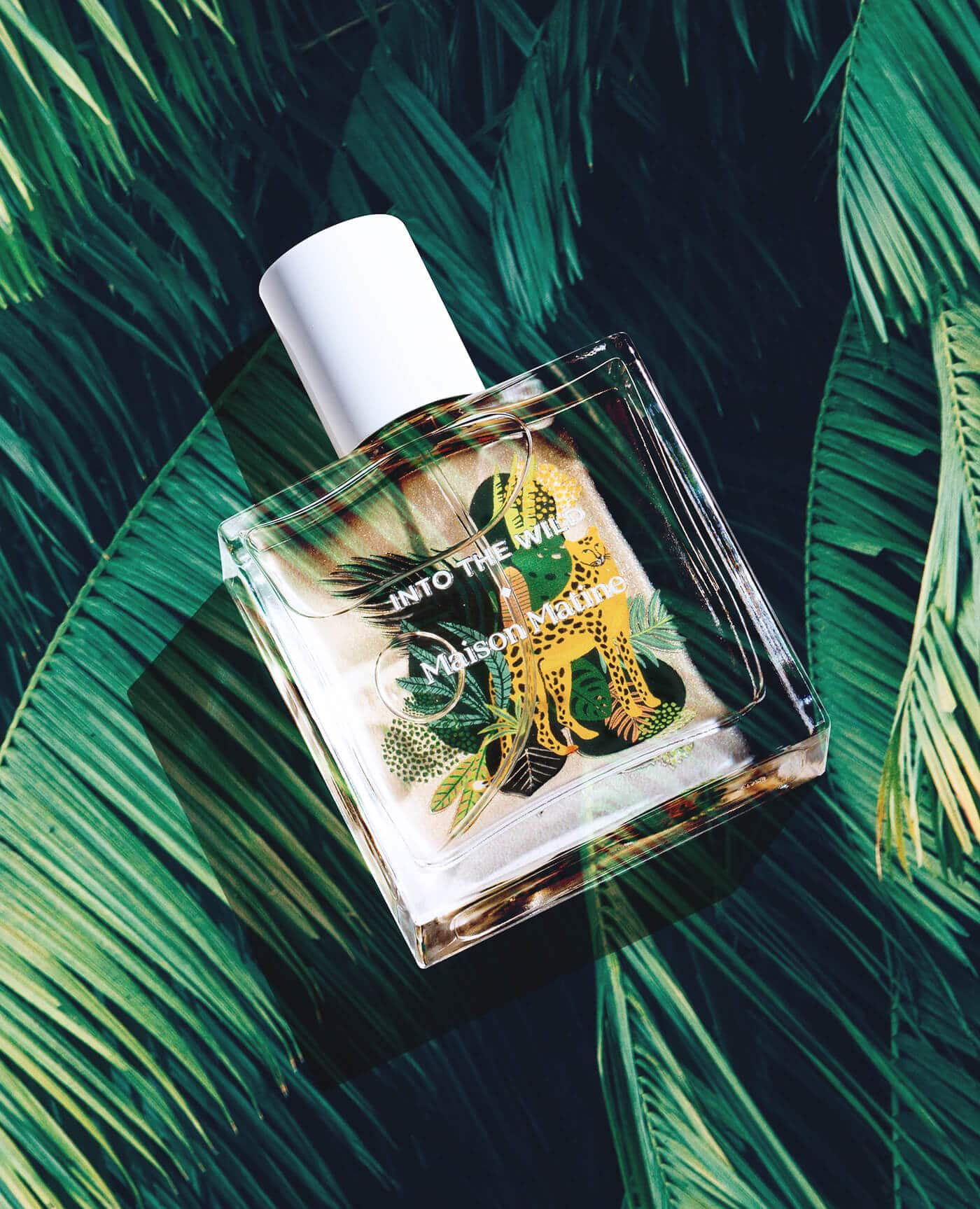 Parfum naturel Into the wild à l'alcool bio de la marque Maison Matine Made in France