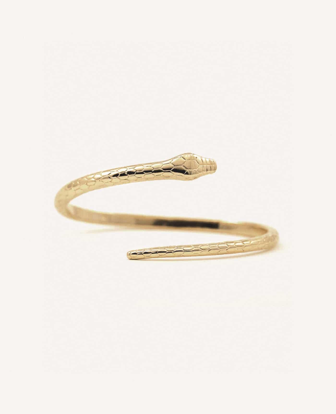 Bracelet Théo serpent de la marque Luj Paris