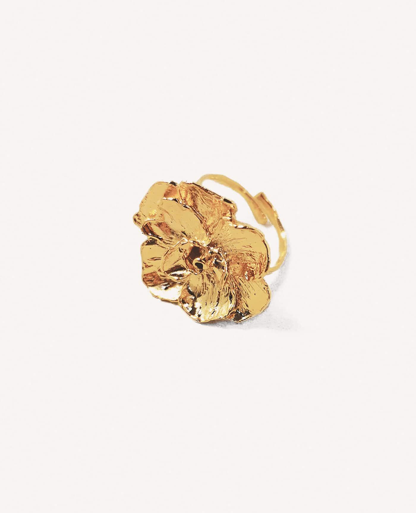Bague fleur Prahana de la marque Elise Tsikis