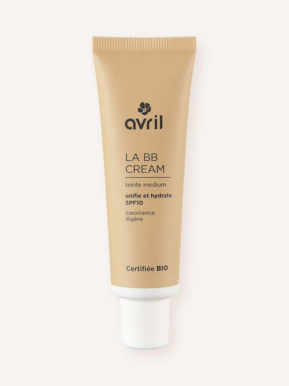 BB créme bio, naturelle et vegan de teinte medium de la marque Avril cosmétiques made in France