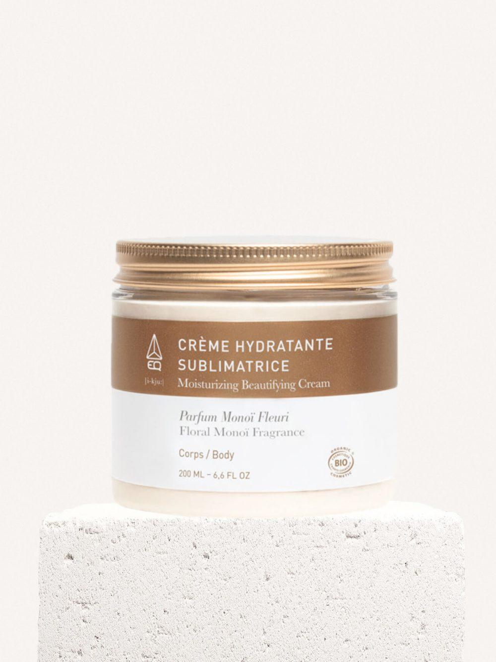 Crème Hydratante Sublimatrice bio pour visage et corps de la marque EQ Love