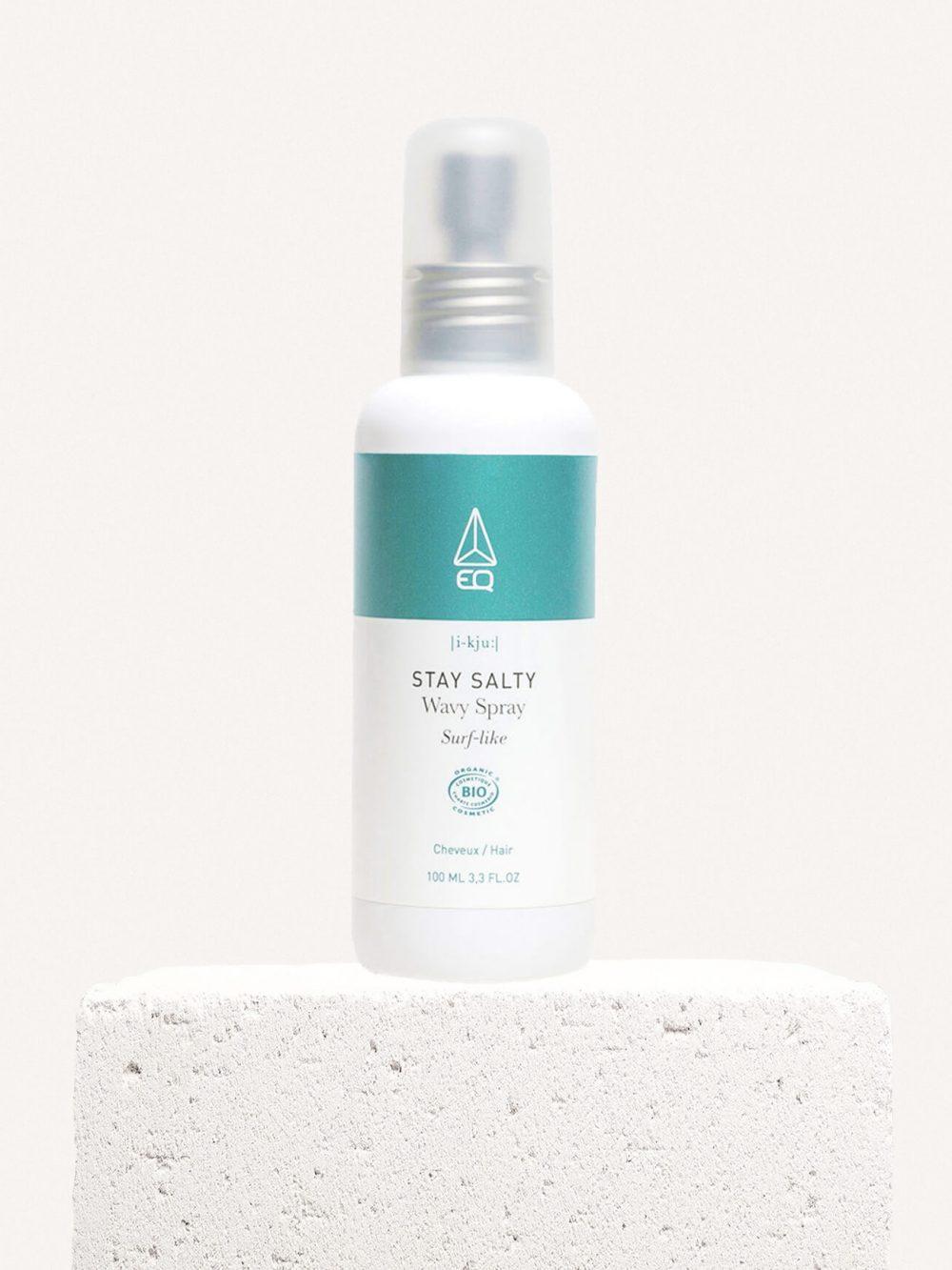 Stay Salty Wavy Spray salé bio pour cheveux wavy de la marque EQ Love