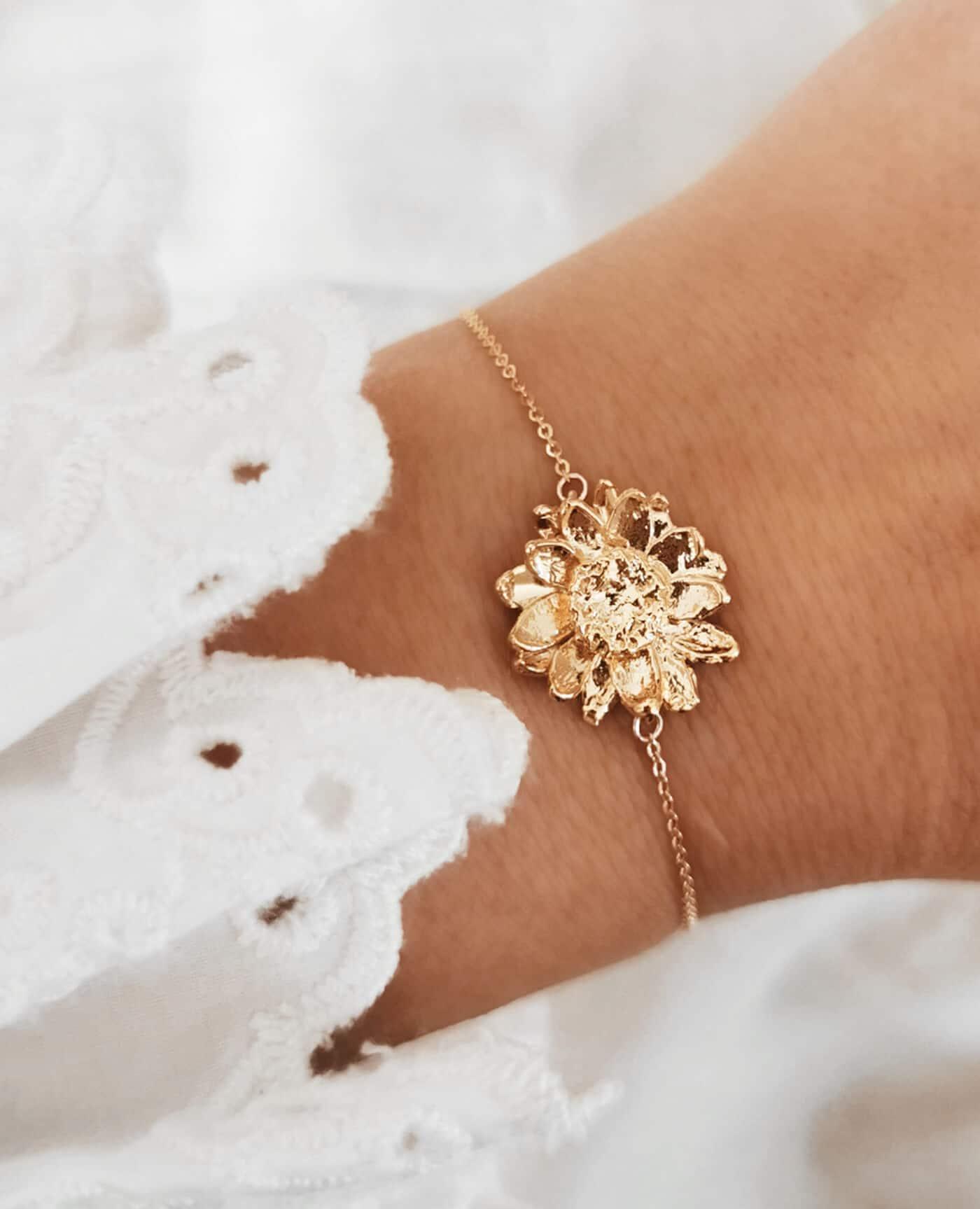 Bracelet fleur Gordese de la marque Elise Tsikis