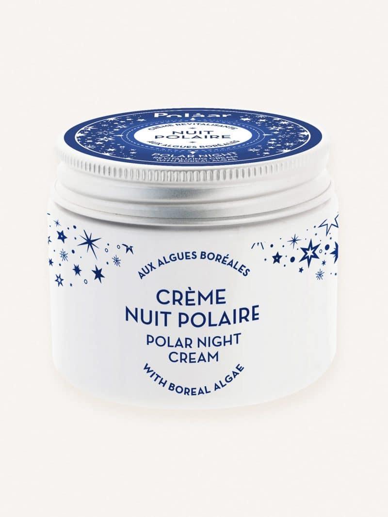 Crème nuit revitalisante visage naturelle nuit polaire aux algues boréales de la marque Polaar