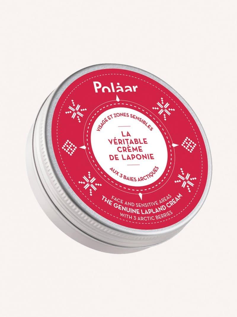 Crème visage zones sensibles naturelle la véritable crème de laponie aux 3 baies arctiques de la marque Polaar