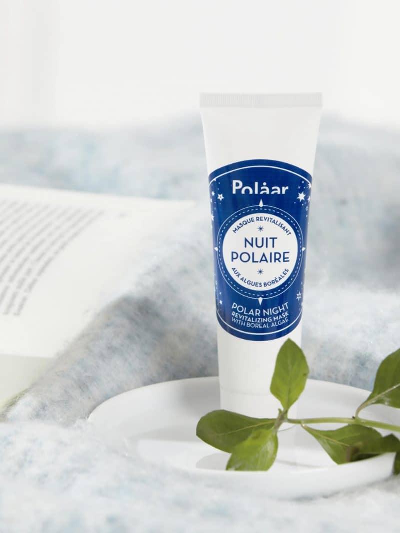 Masque revitalisant naturel nuit polaire aux algues boréales de la marque Polaar