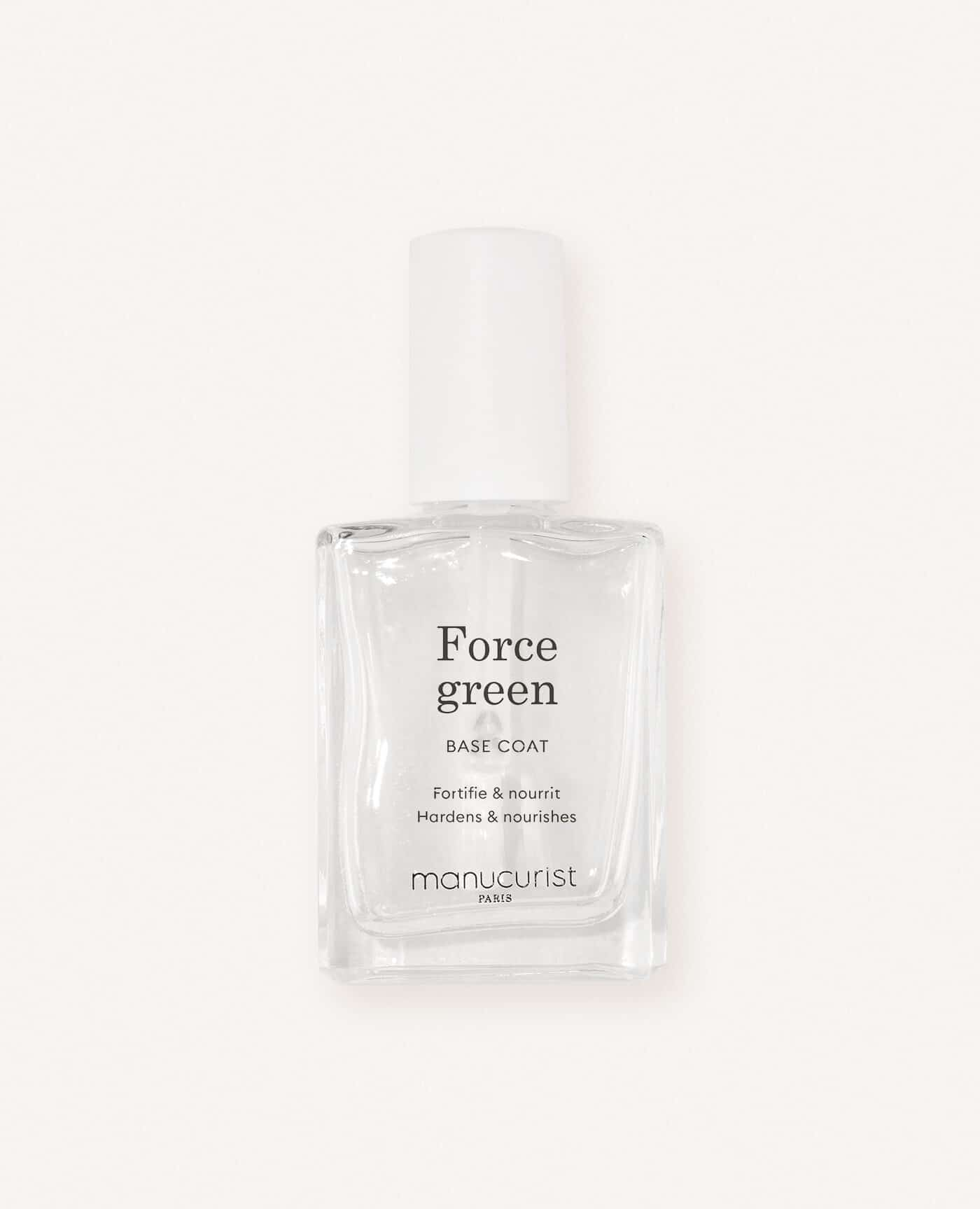 Manucurist Base Force Green Fortifie & Nourrit les ongles