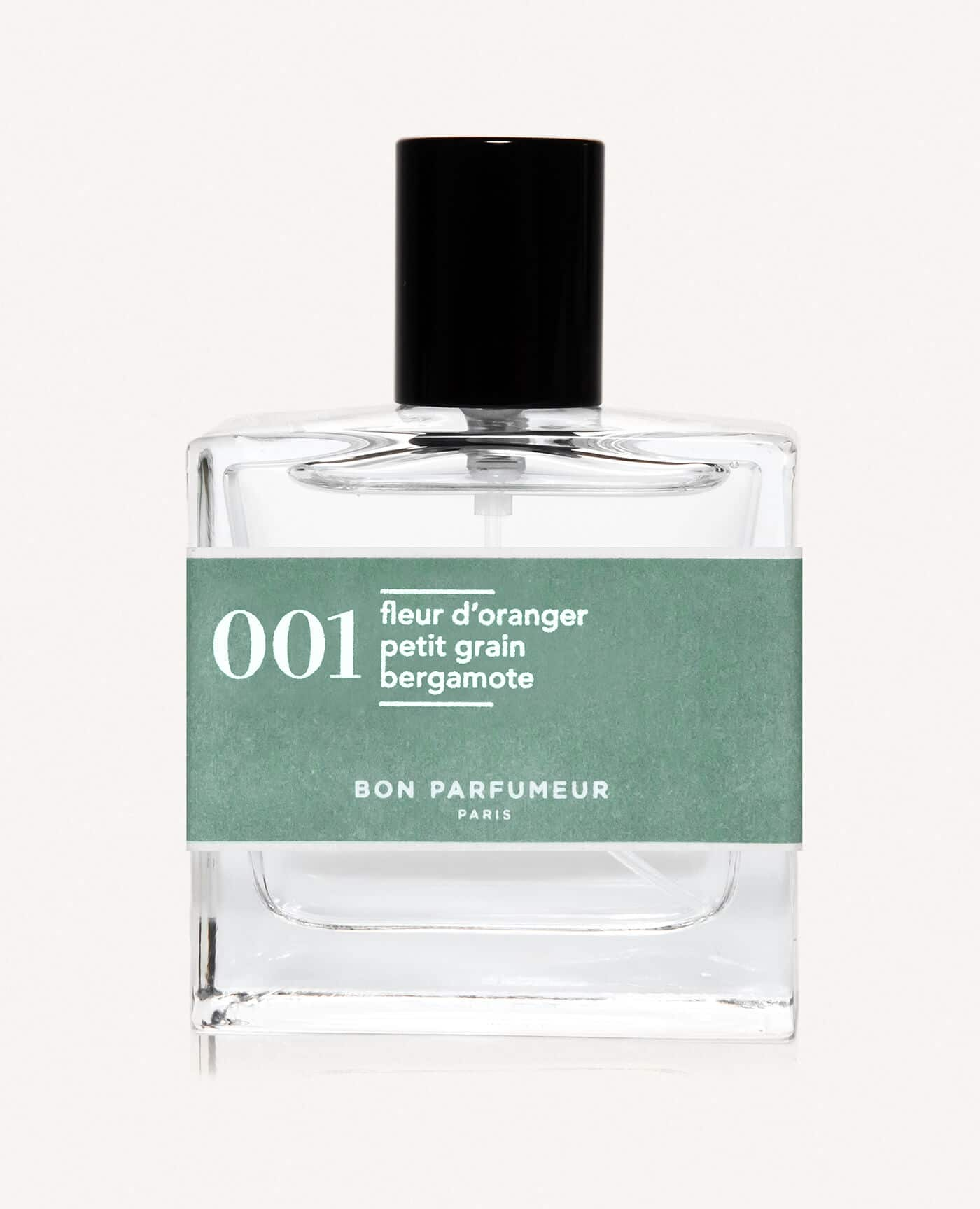 Eau de parfum made in france naturelle de la marque Bon Parfumeur 001 fleur d'oranger petit grain bergamote