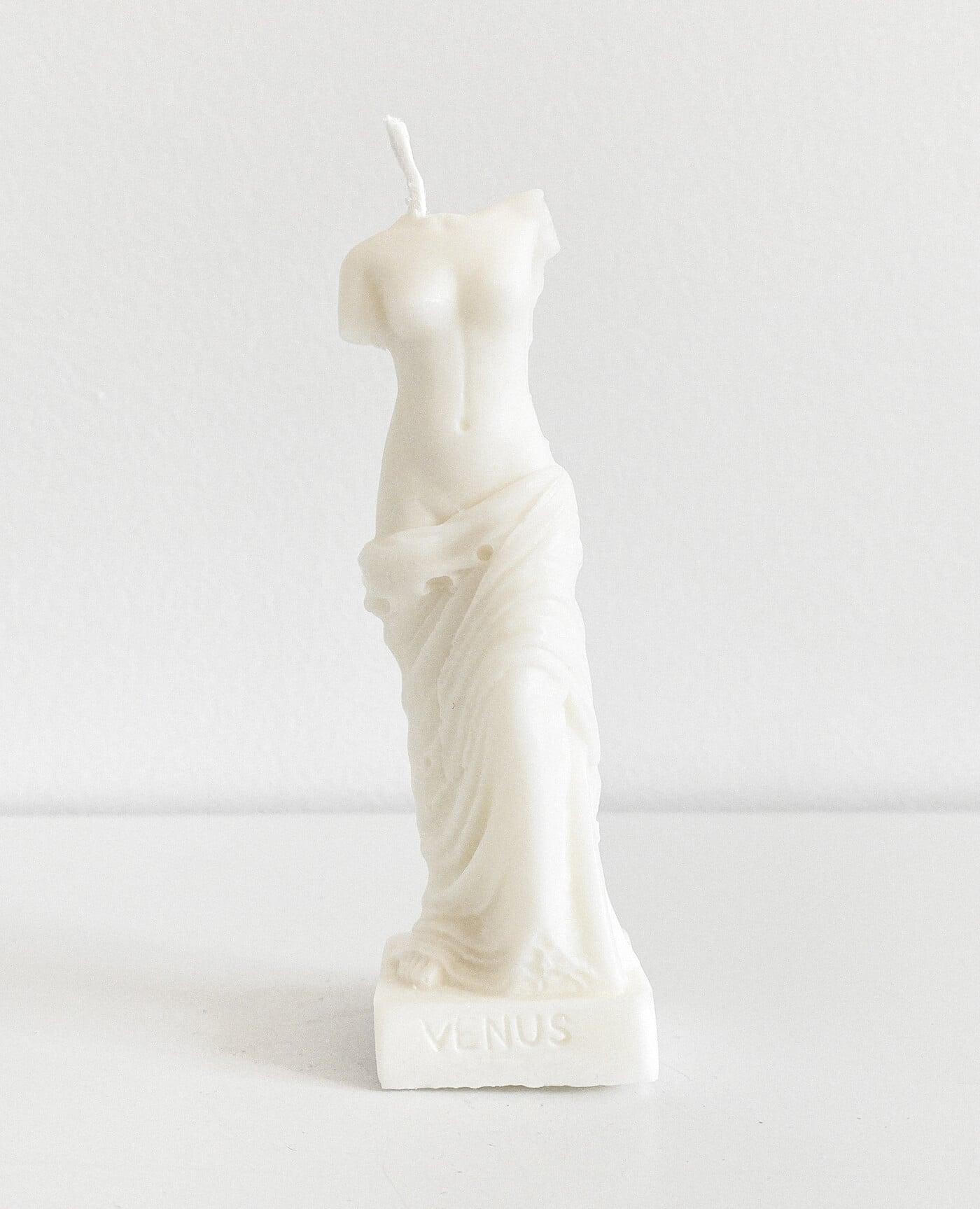 Bougie parfumée La Vénus sculpture vegan de la marque Prose