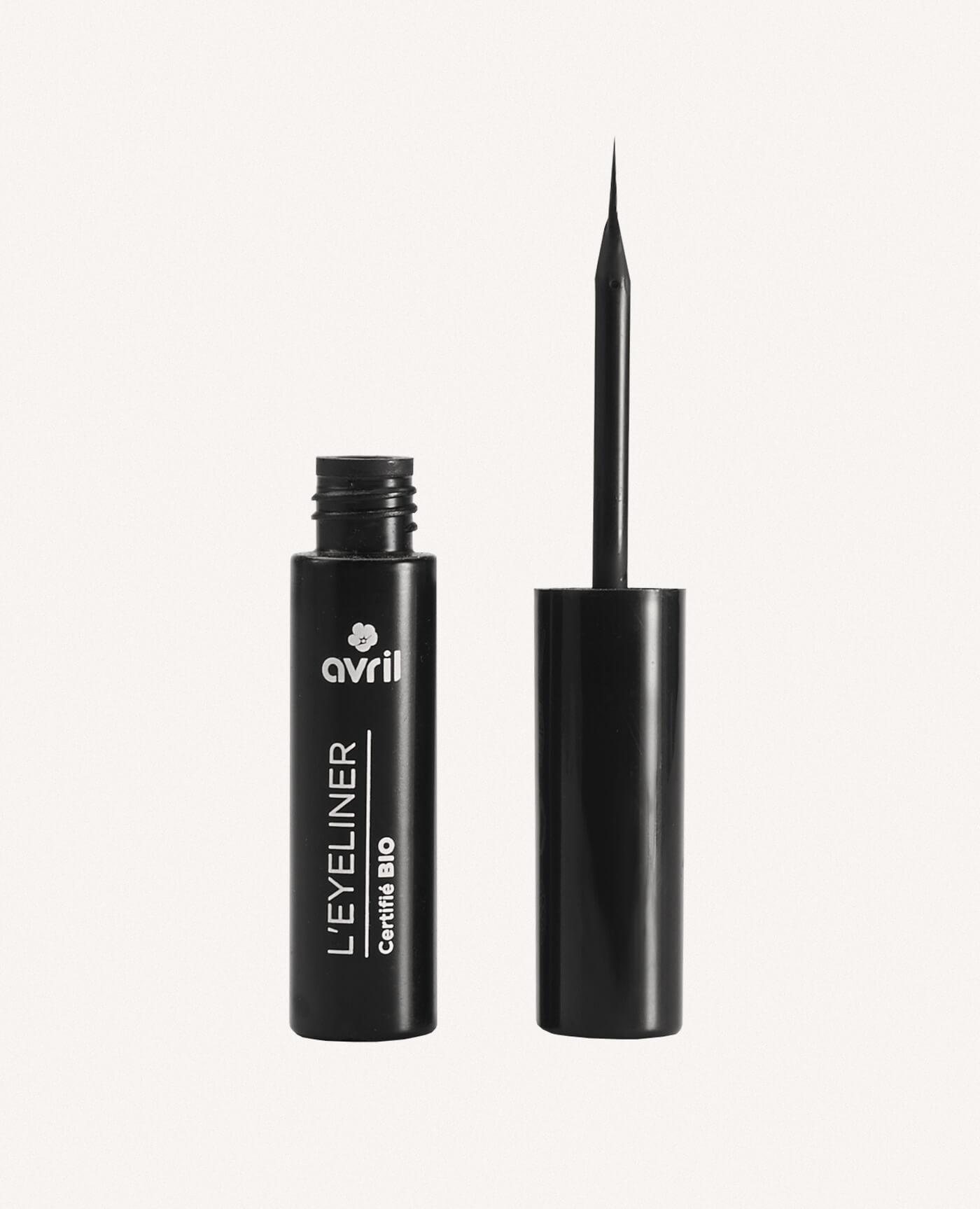 eyeliner bio noir de la marque Avril