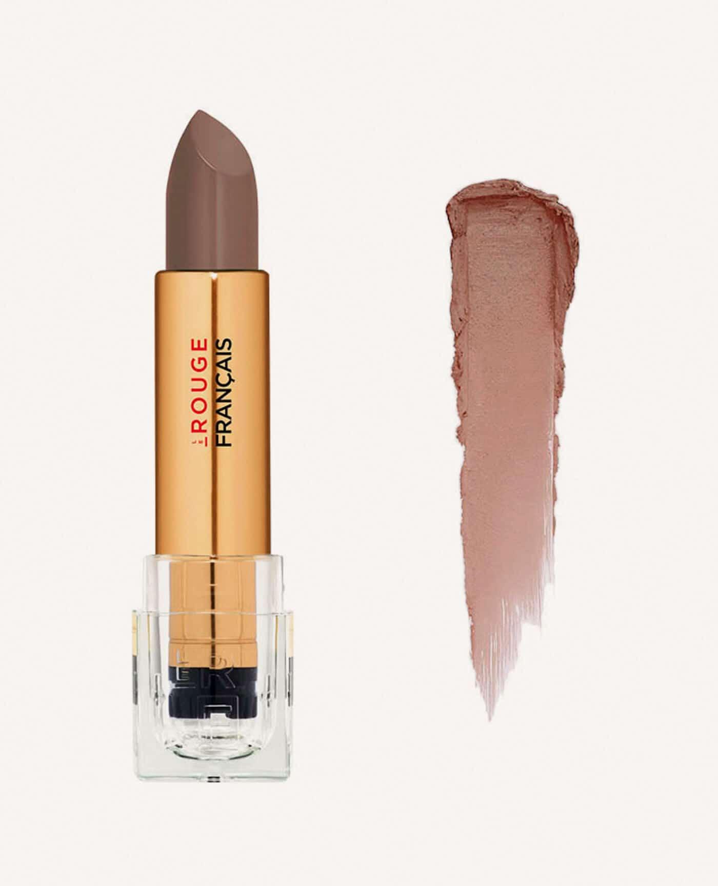Rouge à lèvres rechargeable Castanea bio et vegan couleur nude de la marque Le rouge Français Made in France