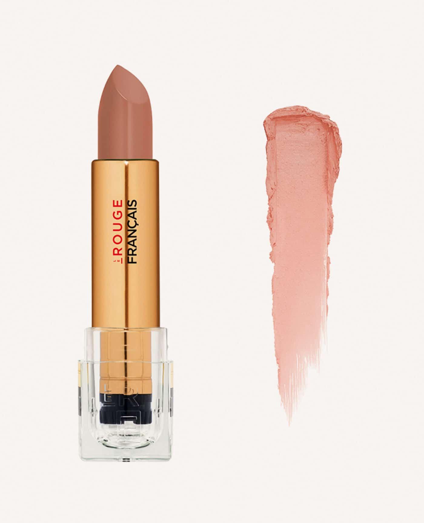 Rouge à lèvres rechargeable Astera bio et vegan couleur nude de la marque Le rouge Français Made in France