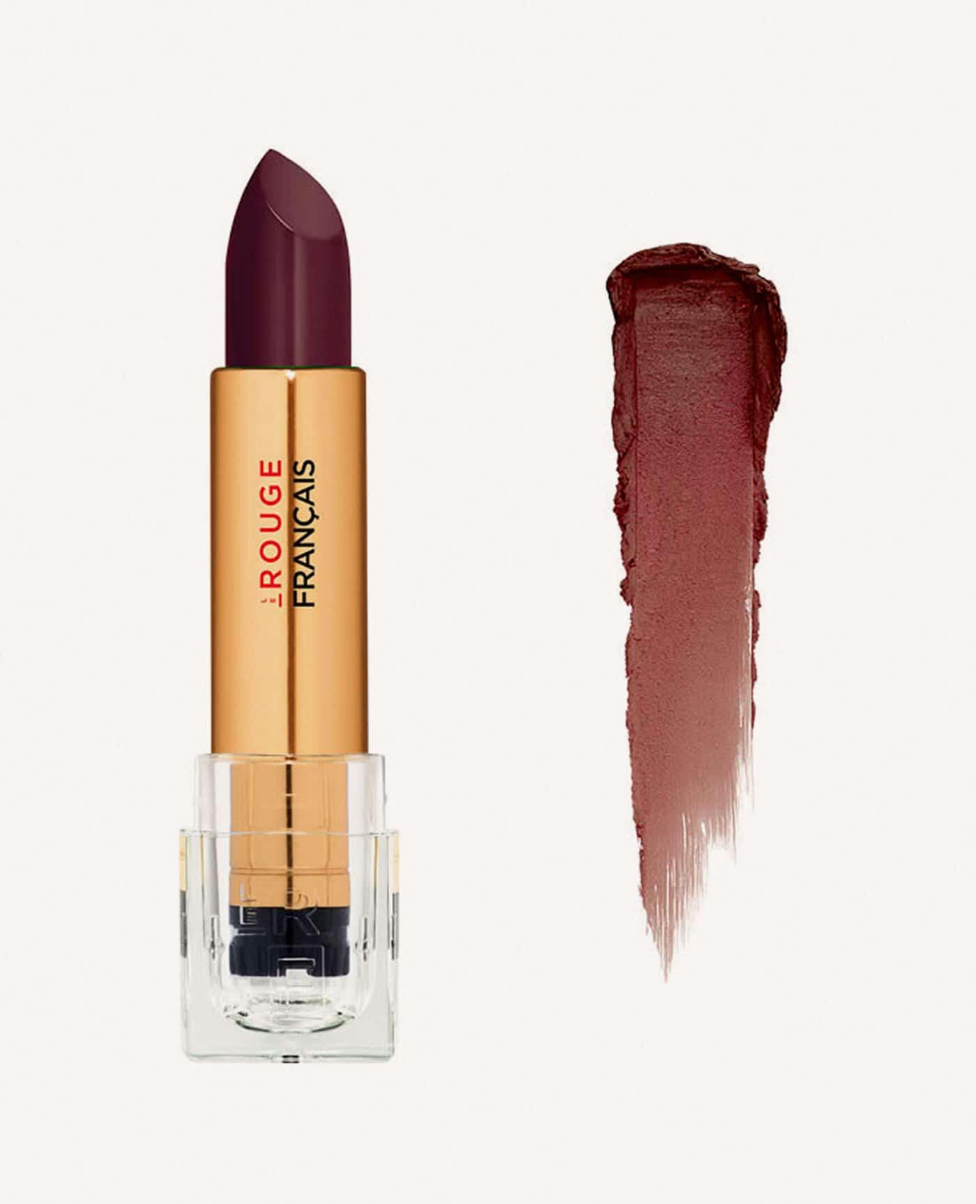 Rouge à lèvres rechargeable Hanahasu bio et vegan couleur brun de la marque Le rouge Français Made in France