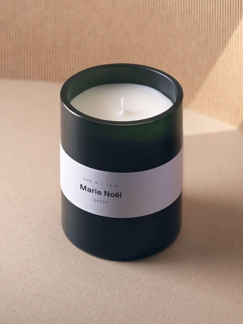 Bougie Marie nöel senteur sapin de la marque Marie Jeanne Grasse, made in france