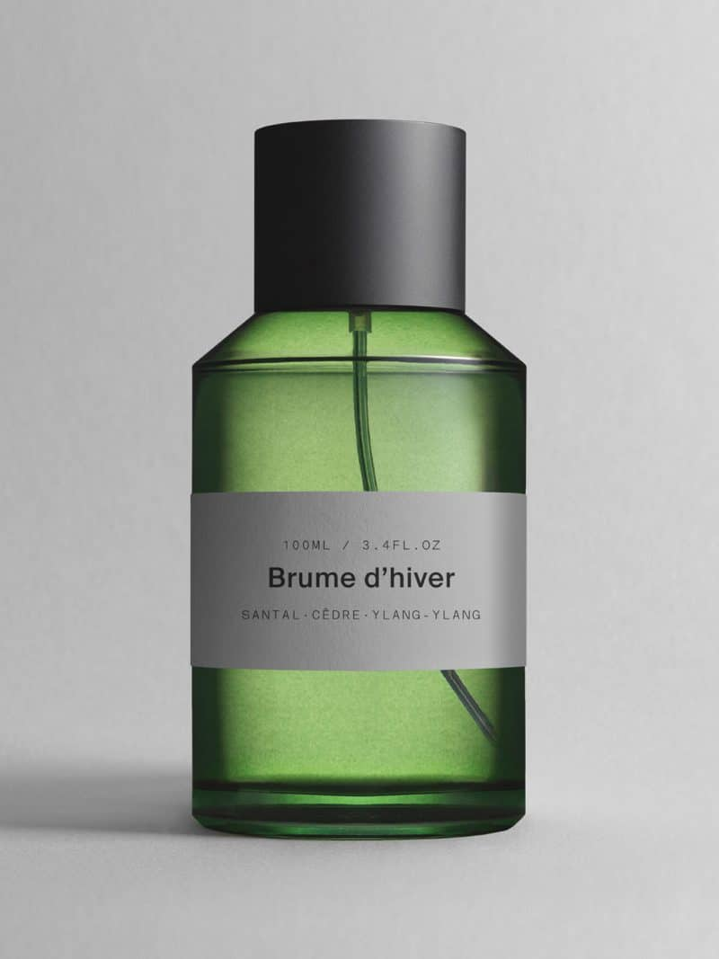 Parfum brume d'hiver senteur santal, cédre et ylang-ylang de la marque MArie Jeanne grasse made in france
